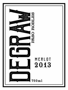 Degraw Paso Robles Merlot