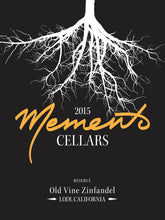 Load image into Gallery viewer, Memento Cellars Reserve Lodi Old Vine Zinfandel