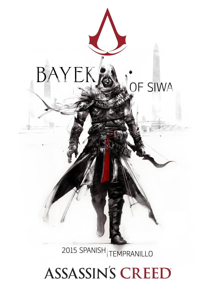 Bayek of Siwa Spanish Tempranillo