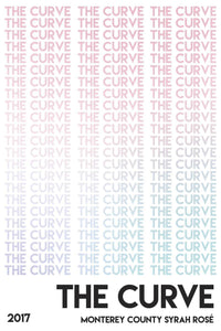 The Curve Monterey County Syrah Rosé