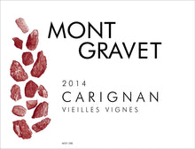 Load image into Gallery viewer, Mont Gravet IGP Pays d'Herault Carignan