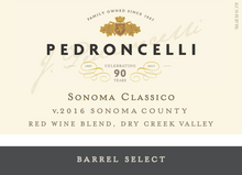 Load image into Gallery viewer, Pedroncelli Dry Creek Valley Sonoma Classico