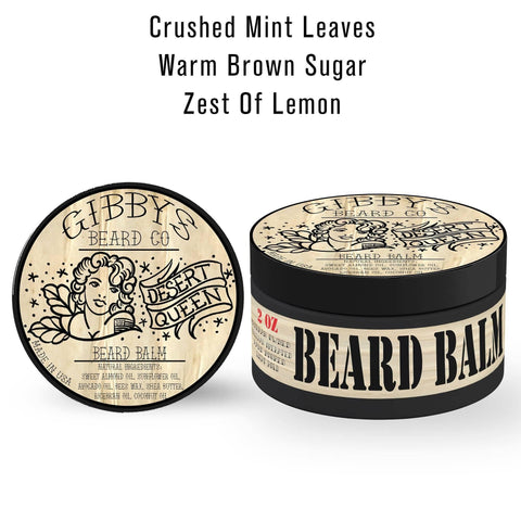 Image of BEARD BALM SAMPLE 4 PACK - 1/2OZ EACH - Gibbys Beard Co
