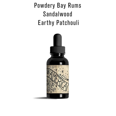 Beard Oil Sampler 4 Pack - 10ml Each - Gibbys Beard Co