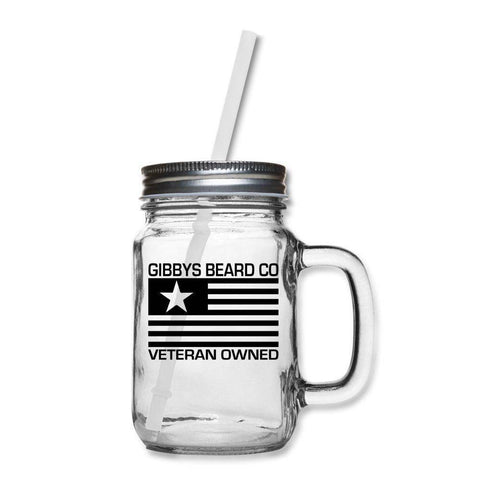 Image of Beer'd Mason Jar - Gibbys Beard Co