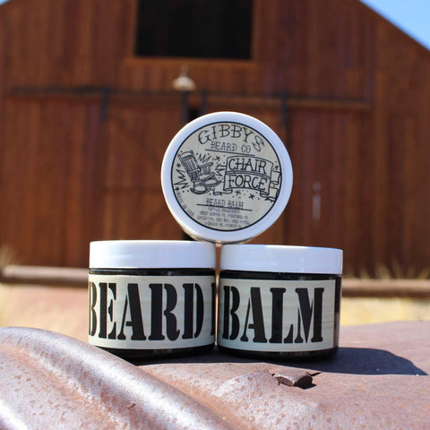 """Chair Force"" Beard Balm 2 oz - Gibbys Beard Co"