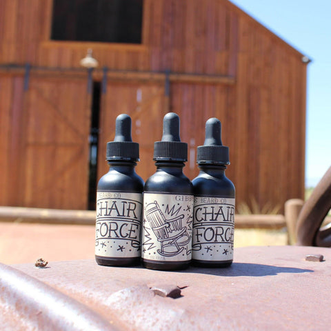 "Image of ""Chair Force"" Beard Oil 1 oz - Gibbys Beard Co"