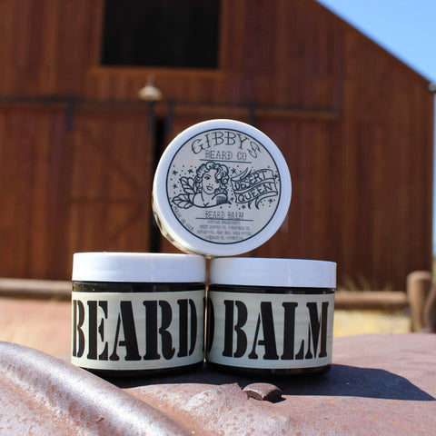 """Desert Queen"" Beard Balm 2 oz - Gibbys Beard Co"