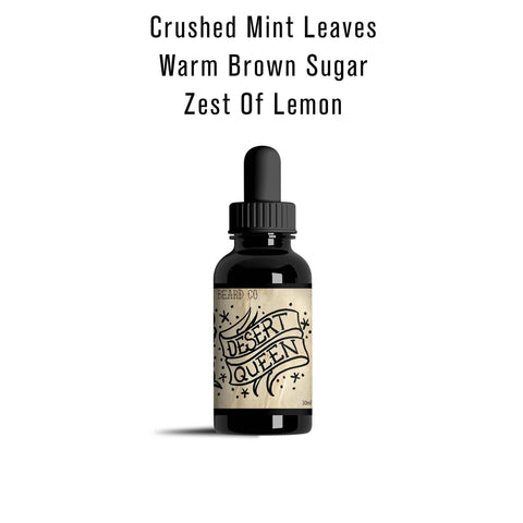 """Desert Queen"" Beard Oil 1 oz - Gibbys Beard Co"