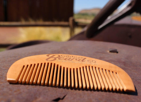 Image of Gibbys Beard Comb - Gibbys Beard Co