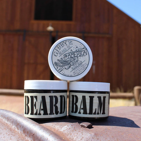 """O'l America"" Beard Balm 2 oz - Gibbys Beard Co"