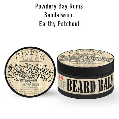 "Image of ""O'l America"" Beard Balm 2 oz - Gibbys Beard Co"