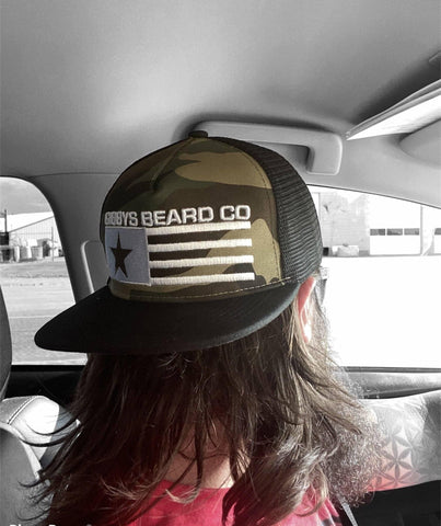 Image of Snap Back Hat - Gibbys Beard Co