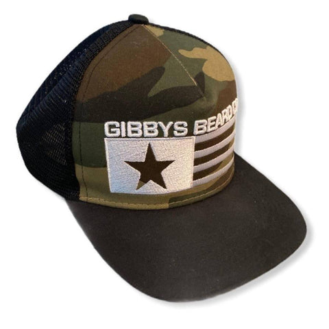 Snap Back Hat - Gibbys Beard Co