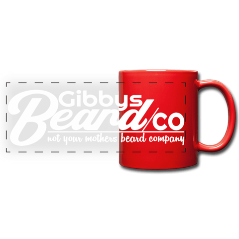 Gibbys Beard Co MUG - red