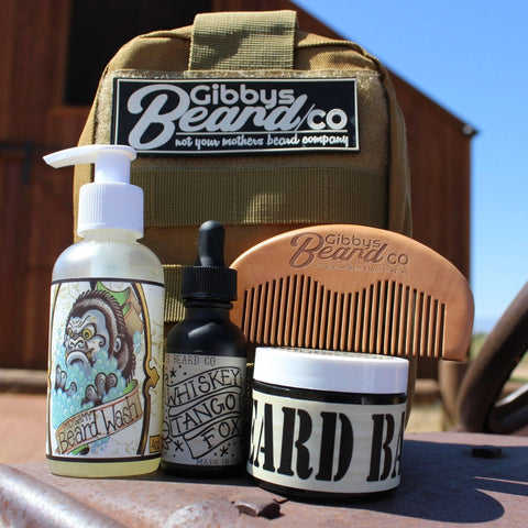 Image of THE BEARD BAG BUNDLE - Gibbys Beard Co