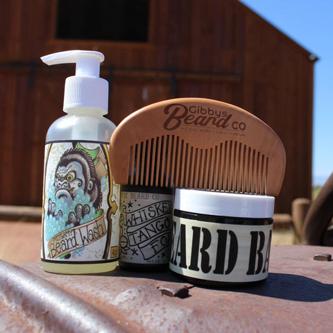 Image of THE BEARD BUNDLE - Gibbys Beard Co