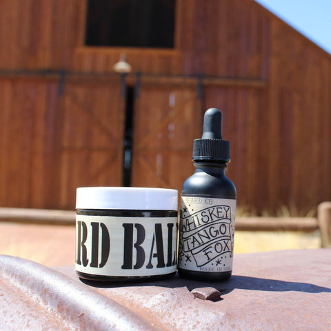 "Image of ""Whiskey Tango Fox"" 2 oz Beard Balm - Gibbys Beard Co"