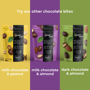 Load image into Gallery viewer, Dark Chocolate Almond Bites 3 Pack