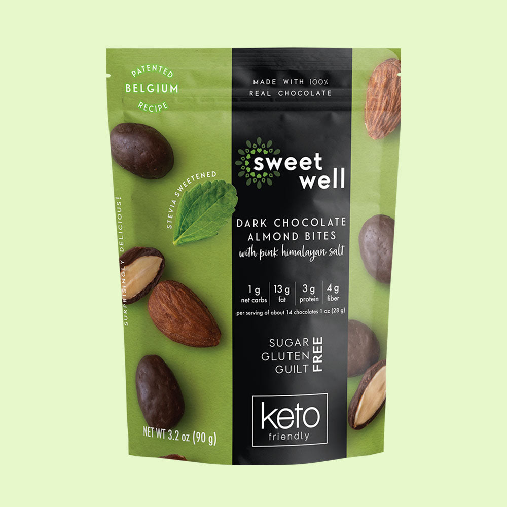 Dark Chocolate Almond Bites 3 Pack