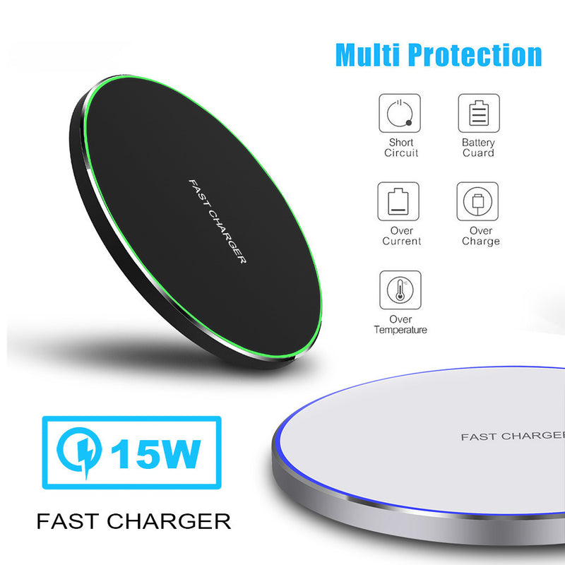 10/15W Fast Wireless Charger