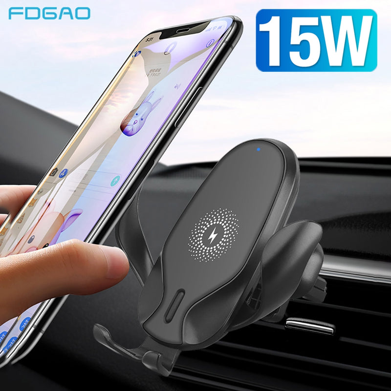 15W Wireless Car Charger Mount