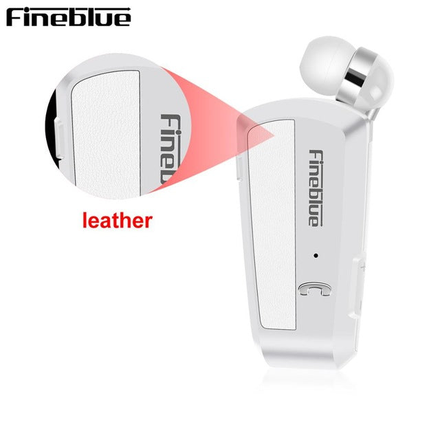Wireless Bluetooth  Headset + Shirt Clip