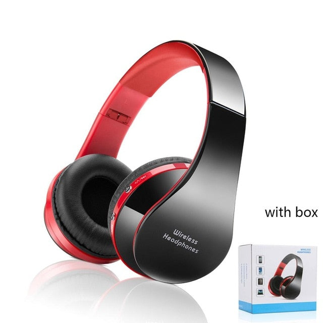 Foldable Wireless Bluetooth Headset