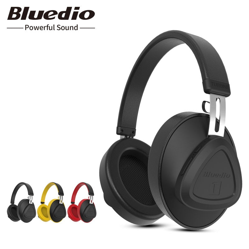 Over-Ear Bluetooth Headphones + Microphone