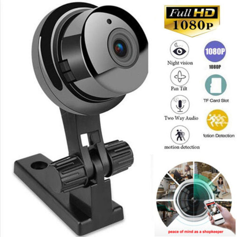 Mini WIFI Security Cam + 2-Way Audio