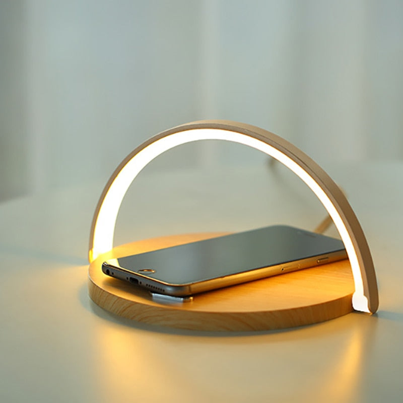 Table Lamp + Wireless Charger