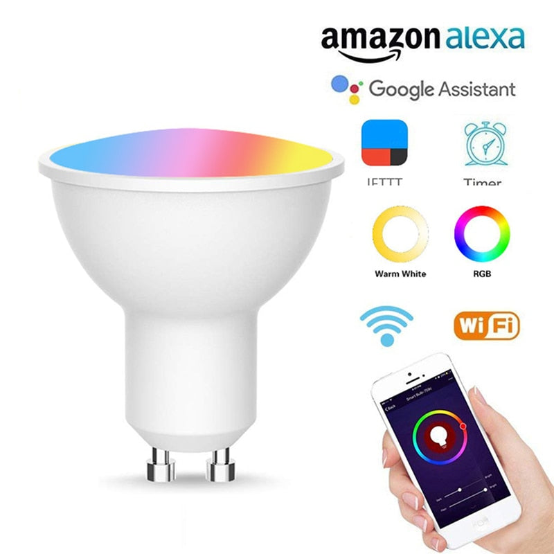 WiFi Smart LED Bulbs | RGBW - 5W