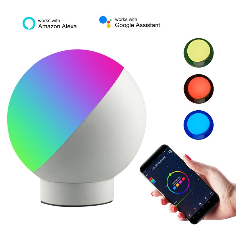 Smart WiFi Table Lamp  + Smart Bulb