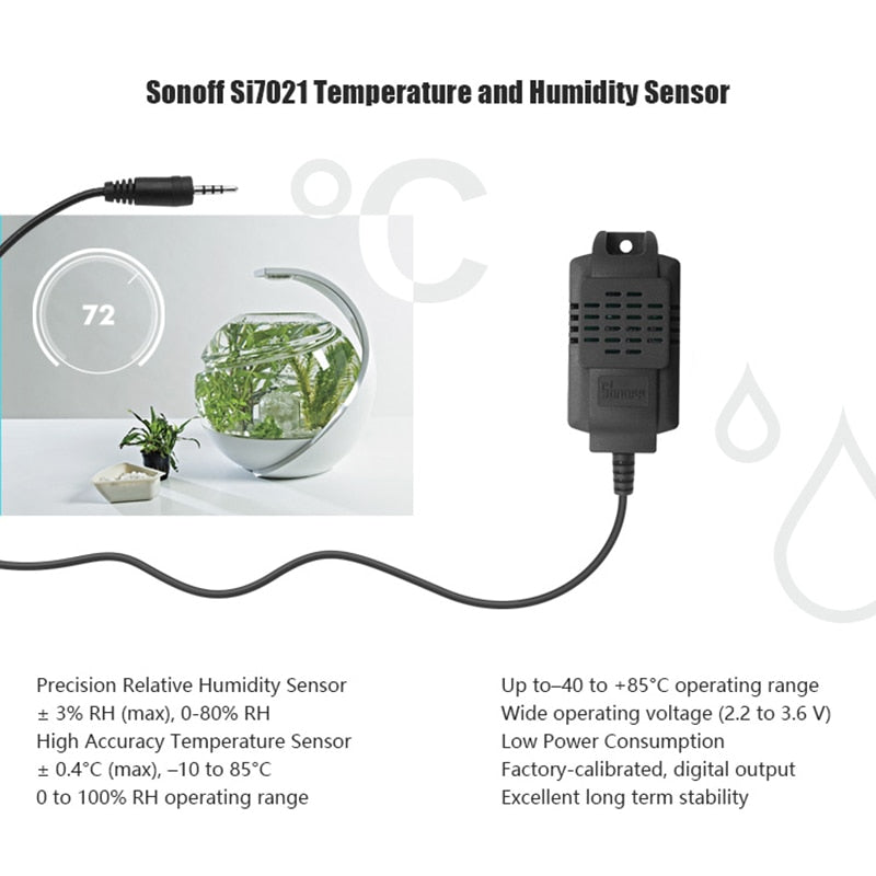Temperature + Humidity Sensor