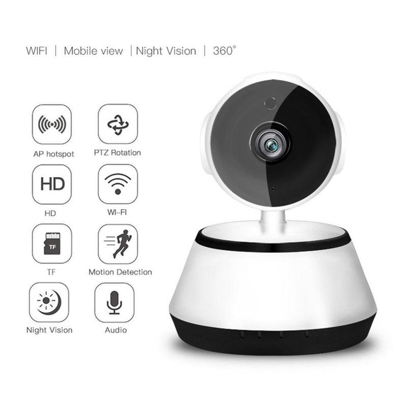 Mini Wifi Security Cam | 2.1mm Lens | 720P