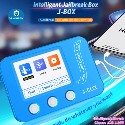 JCID J-BOX New Functions For iOS jailbreak Face ID True Tone Repair