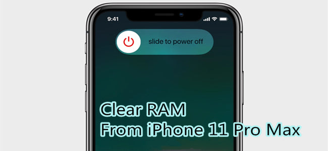 How to Clear RAM From iPhone 11 Pro Max ( A13 CPU )