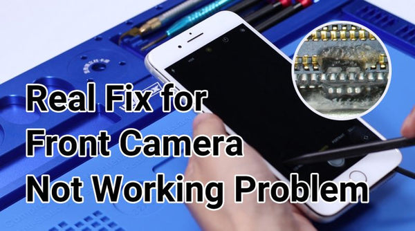 How to fix iPhone 7 front camera not working after water damage