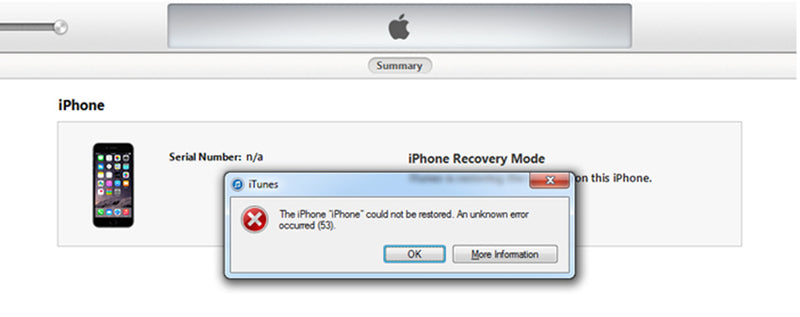 How To Fix iPhone XS iTunes Error 53?