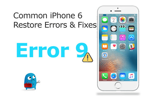 How To Fix iPhone XR Error 9?