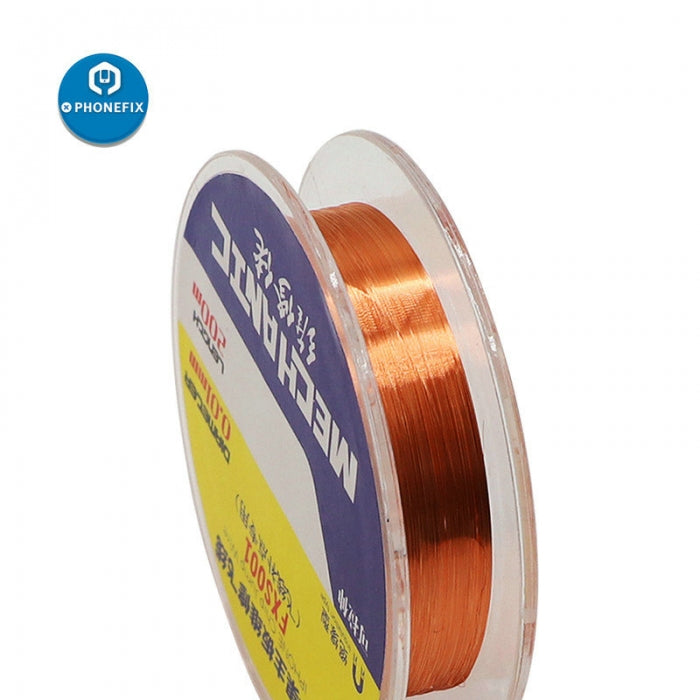 Mechanic 0.01mm Insulation Jump Wire 200m for Phone PCB Soldering Tool