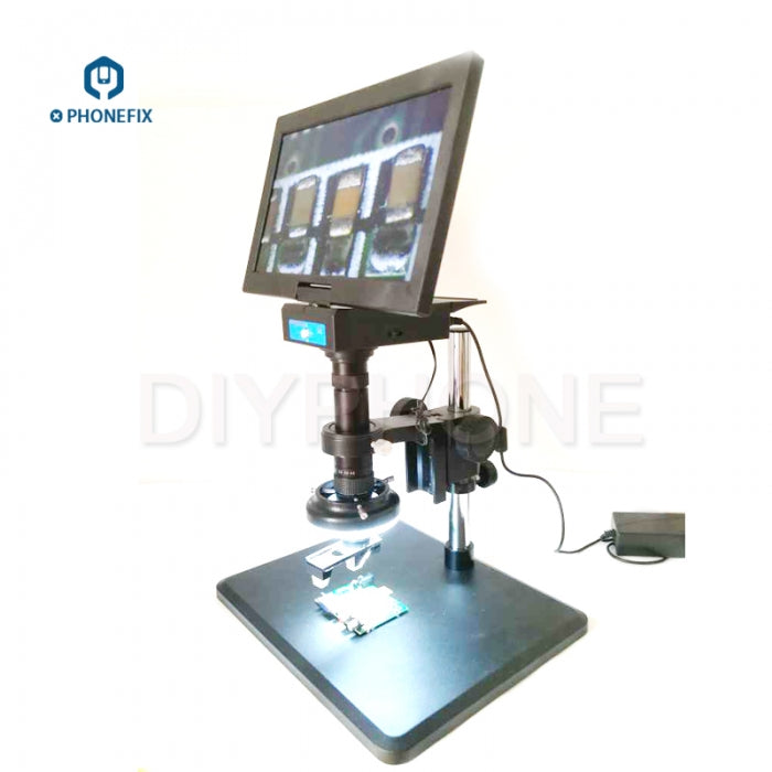 0.7-4.5X All-in-one 3D Integrated Microscope with 10.6 inch Display