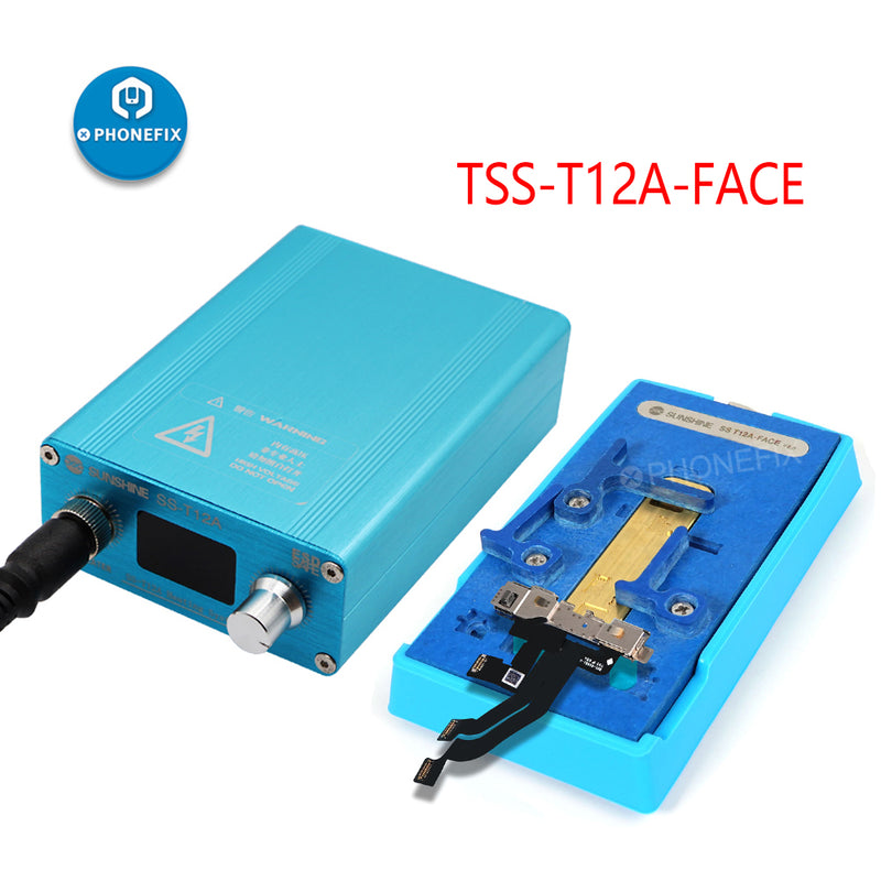 SS-T12A-FACE ID V2.0 Heating Groove Station For iPhone XS XS MAX