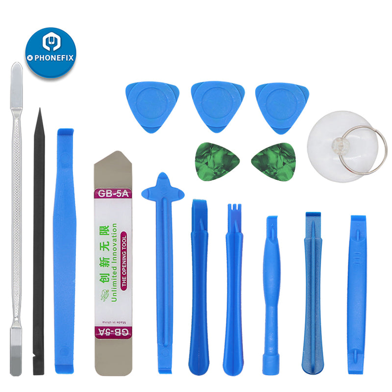16Pcs Pry Opening Repair Tool Set For Phone LCD Screen Disassembly