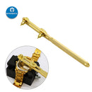 Gold Two Claw Screw Watch Back Case Opener Watchmaker Repair Tool