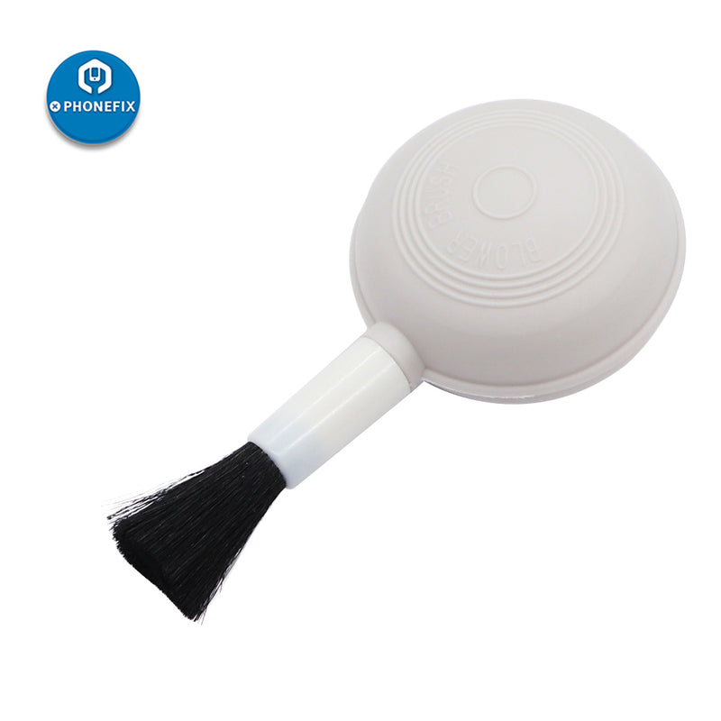 2 IN 1 Dust Cleaning Air Blower Brush For Keyboard Camera Cleaner