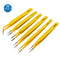 Stainless Steel Anti-static Tweezers Kit for PCB Soldering Repair Tool