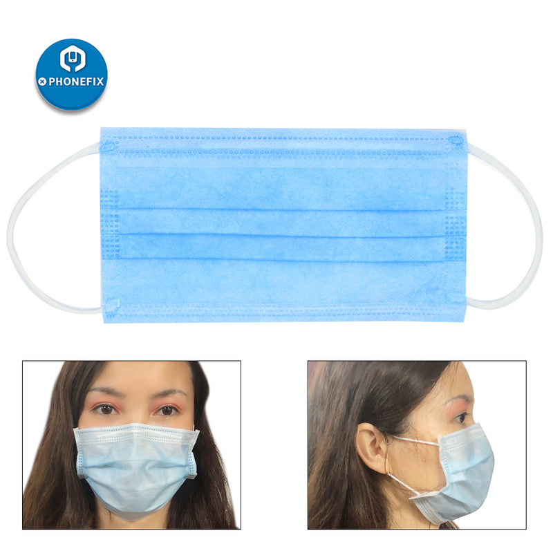 Disposable Face Mask Non-Woven Medical Mask Anti-Dust Ear Loop