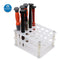 Transparent Acrylic Screwdriver Storage Rack for Phone Repair Tools