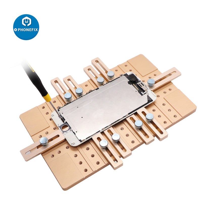 Phone LCD Screen UV Glue Mold Jig Holder Clamp for OCA Laminating